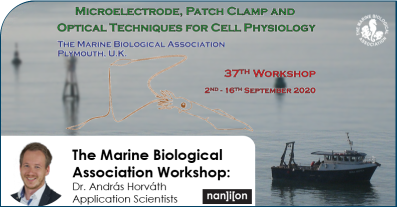 17.03.2020: Patch Clamp Workshop - Microelectrode Techniques for Cell Physiology