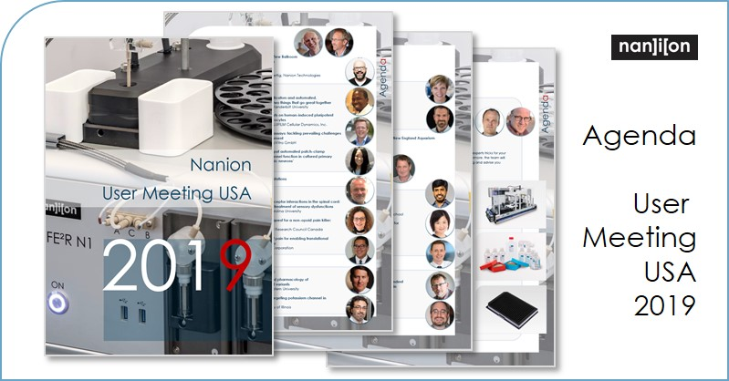 14.05.2019: User Meeting Agenda USA published (28. - 29.05.2019, Boston)