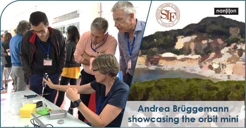 07.10.2019 Andrea Brüggeman at the 7th SFICT Workshop in Genoa, Italy