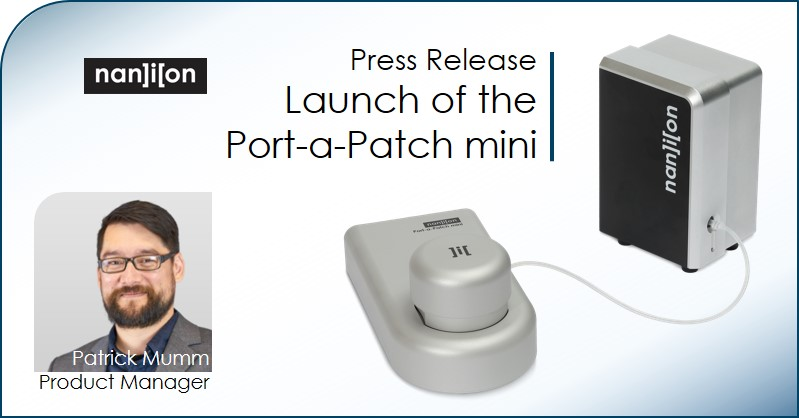 07.10.2019: Press Release - Launch of the Port-a-Patch mini