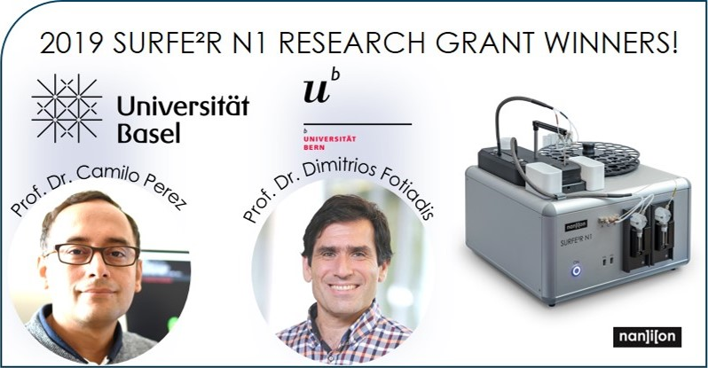 31.10.2019: Meet our SURFE²R N1 reseach grant winners- 2019