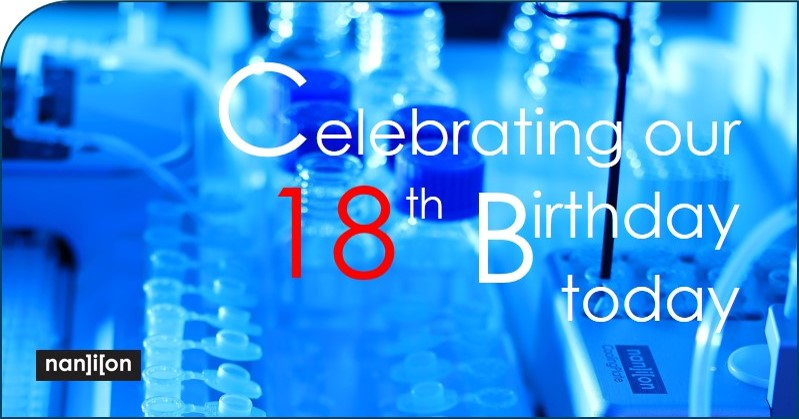 15.01.2020: We are celebrating our 18th Birthday today!