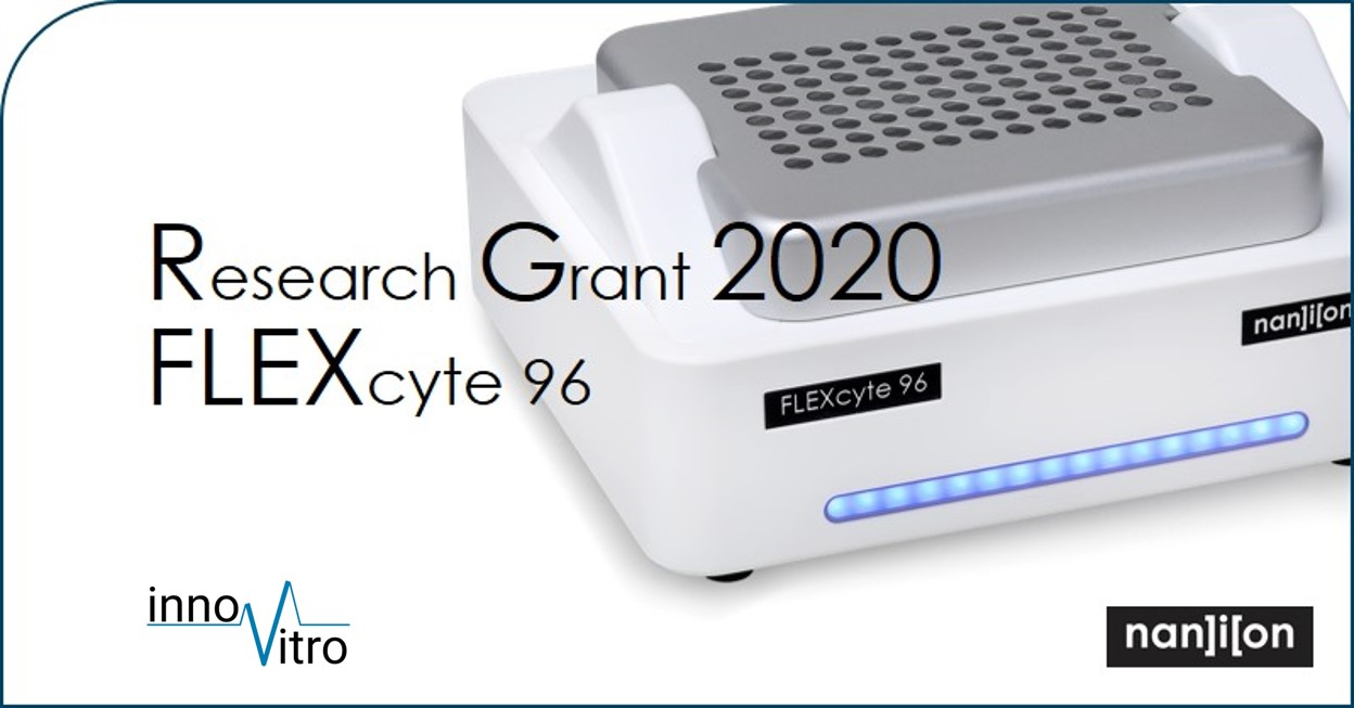 11.02.2020: Call for Proposals - Nanion FLEXcyte Research Grant Application