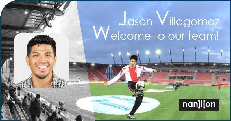 13.02.2020: Jason Villagomez is now playing in the Champions League at Nanion as Marketing Manager