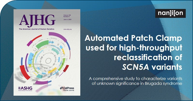 17.06.2020: Publication Alert - High-Throughput Reclassification of SCN5A Variants