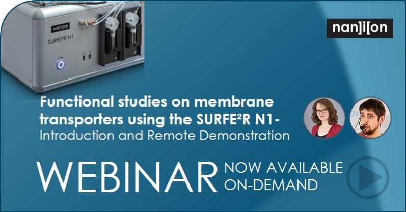 18.06.2020: Playback of the Functional Studies on Membrane Transporters Webinar now available