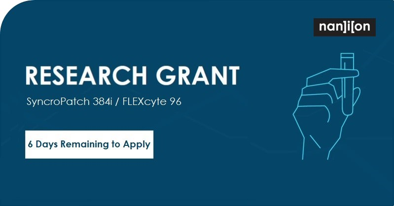 24.06.2020: Research Instrument Grants - 6 Days Left to Apply!