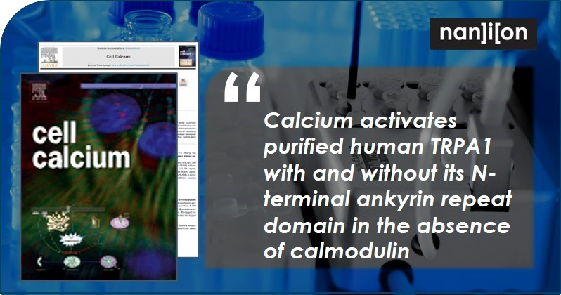 25.06.2020: Publication Alert - The effect of calcium on TRPA1