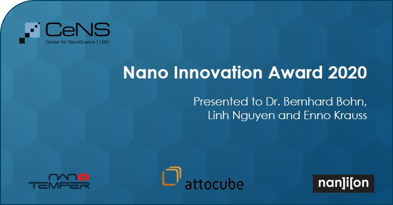 24.07.2020: Nano Innovation Award 2020