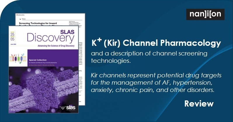 25.09.2020: Review - K+ Channel Pharmacology