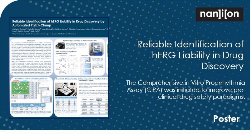 05.10.2020 - Poster - Reliable Identification of hERG Liability in Drug Discovery