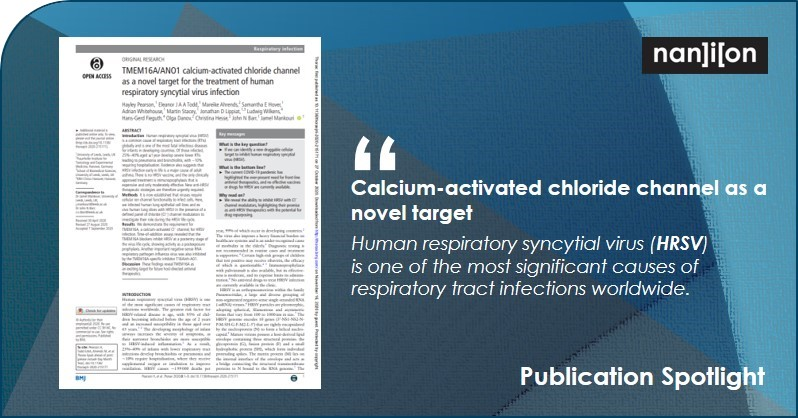 19.11.2020: Publication Spotlight - TMEM16A/ANO1 calcium-activated chloride channel