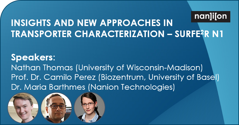 12.05.2020: Webinar announcement (May 19): Insights and New Approaches in Transporter Characterization