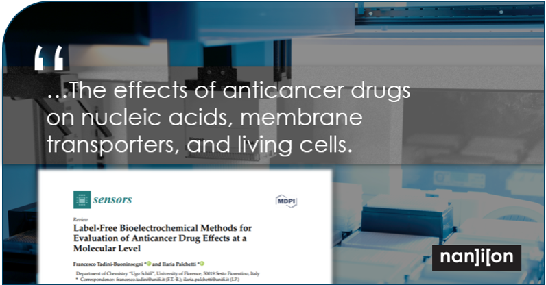 14.05.2020: Publication Alert - Evaluation of Anticancer Drug Effects at a Molecular Level