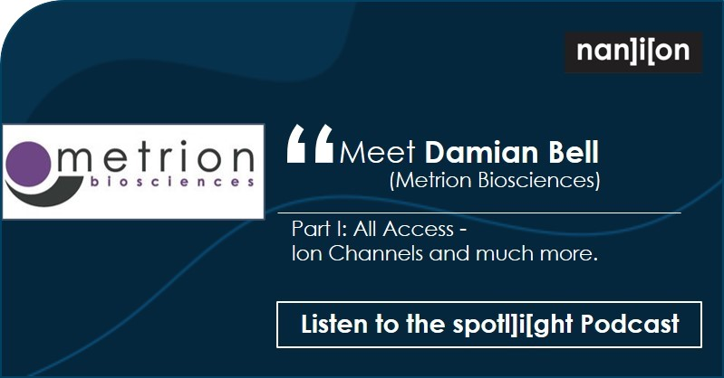 spotl]i[ght - Podcast - Damian Bell (Metrion Biosciences)