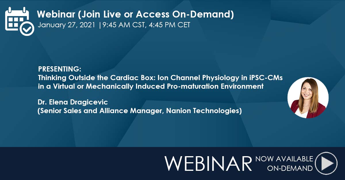 16.02.2021: On-Demand Webinar Alert - Thinking Outside the Cardiac Box