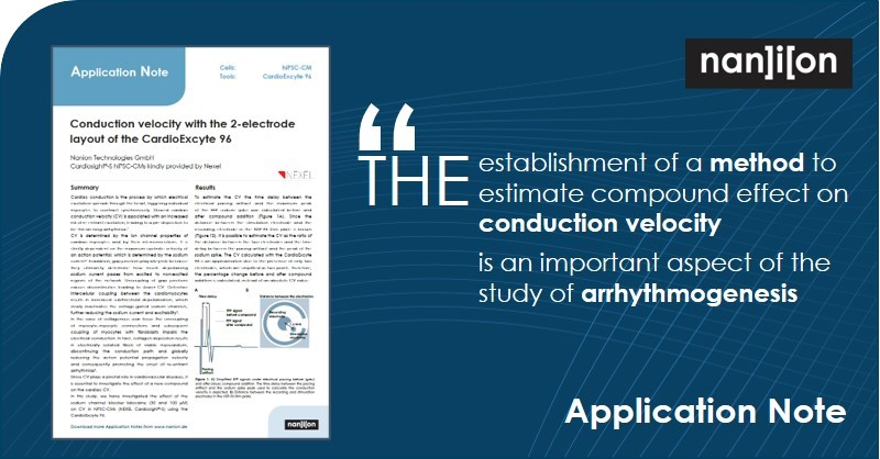 22.07.2020: Free Application Note - Conduction Velocity plays a pivotal role in cardiovascular diseases
