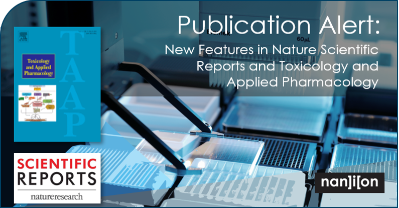 27.03.2020: New Publications in Nature Scientific Reports and Toxicology and Applied Pharmacology