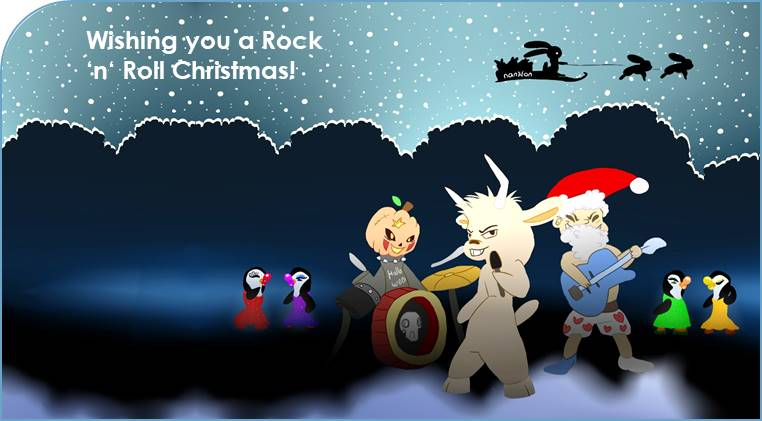19.12.2018: Nanion wishes you a Rock 'n' Roll Christmas and a happy new year!